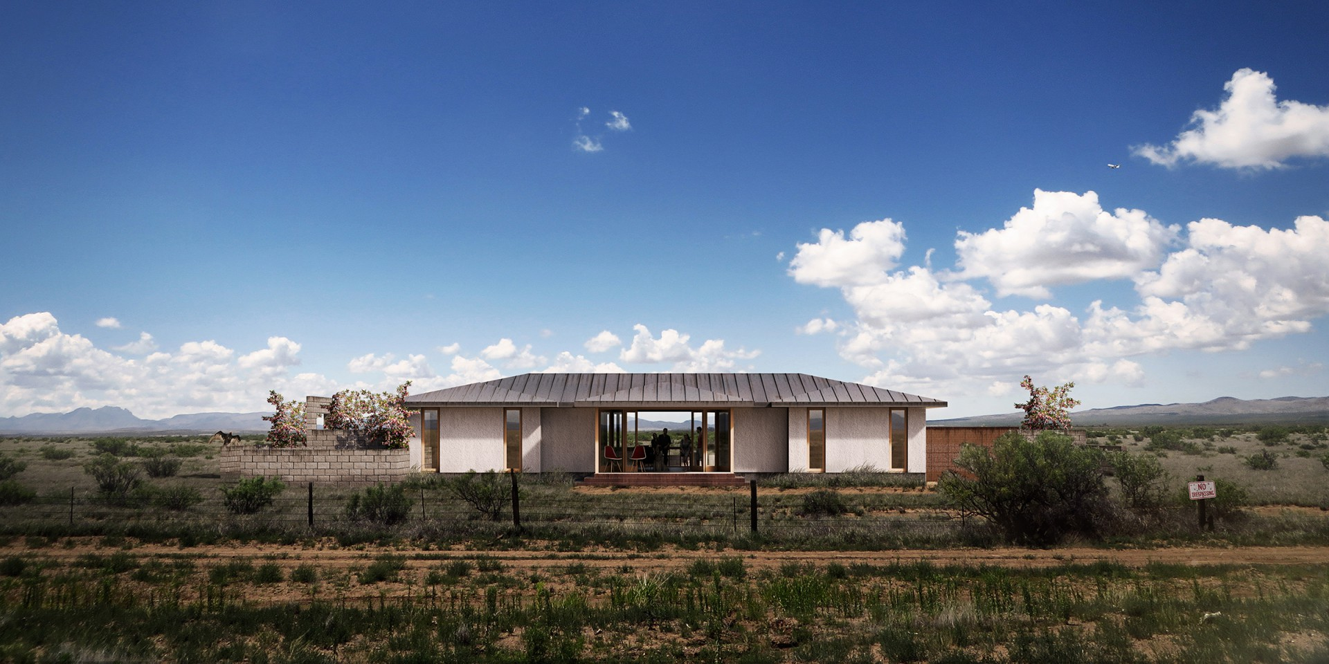 Rivers Barden  Architects West Texas Retreat
